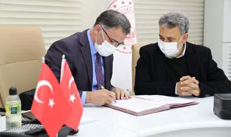 İşadamı Suveren'in katkılarıyla Tokat OSB'ye Sağlık Ocağı