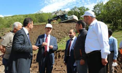 30 yıllık içme suyu ihtiyacını karşılayacak barajın inşasına başlandı