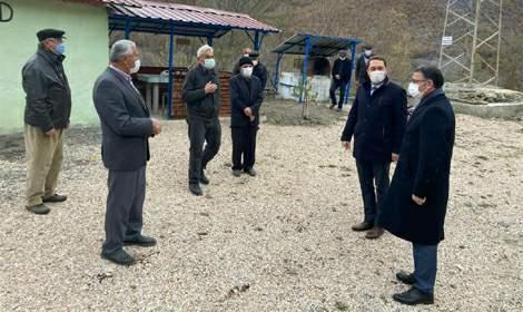 Vali Ozan Balcı, Almus ve Reşadiye'de incelemelerde bulundu
