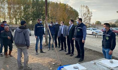 Pazar Kaymakamı Mesut Ateş Pancar Kantarı'nı Ziyaret Etti