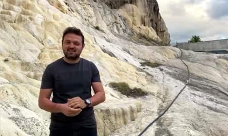 Türkiye'nin ikinci Pamukkale'si Reşadiye