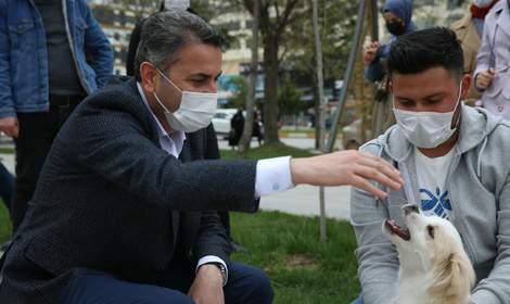 Başkan Eroğlu, 'Tokat'ta sokak hayvanlarımız, birliğe emanet'