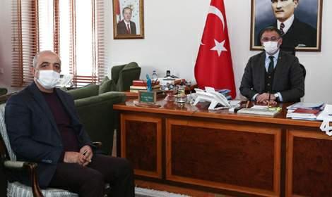 Şaban Ceylan'dan Vali Ozan Balcı'ya Ziyaret