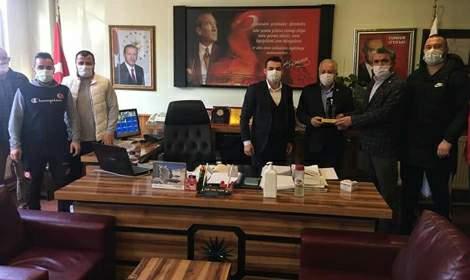 Sadi Ertan Sosyal güreşe destek vermeye devam ediyor