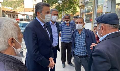 Başkan Eroğlu, 'Şehrimizi makamdan değil, halkın içinden yönetiyoruz'