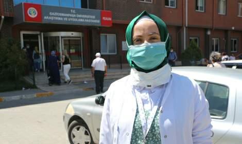 'Sıcakta nemlenen maske sık sık değiştirilmeli'