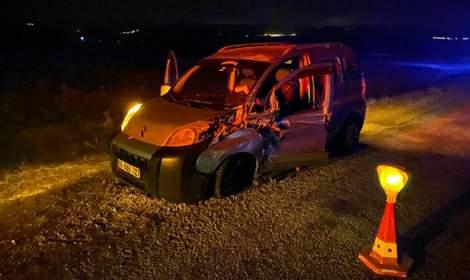 Sulusaray'da feci bir kaza meydana geldi