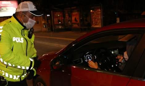Tokat'ta sokağa çıkma yasağını ihlal eden 61 kişiye ceza