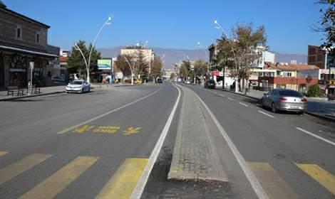 Tokat'ta cadde ve sokaklar hayvanlara kaldı