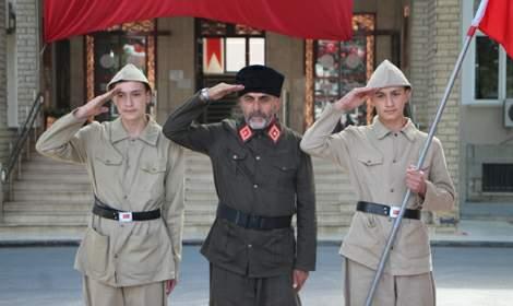 Tokat'ta 15 Temmuz şehitleri için 251 dakikalık saygı nöbeti