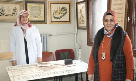 Tokat'ta 1000 yıllık ahşap yakma sanatı yaşatılıyor