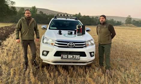 Tokat'ta kaçak avcılara ceza