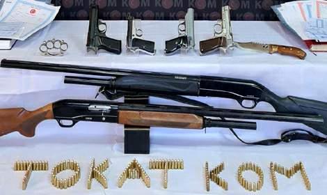 Tokat'ta tefeci operasyonunda 5 tutuklama