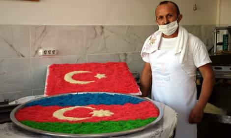 Tokatlı yufkacıdan, Azerbaycan'daki şehit ailelerine bağış