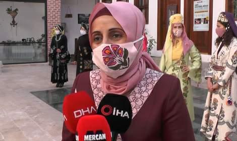 Tokat'ta yöresel kıyafetler 'maskeli' defileyle tanıtıldı