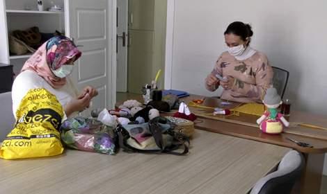 Turhal Belediyesi'nin hanımeli kursları açıldı