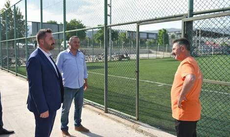 Turhal Yeni Belediyespor'da yaz kampları devam ediyor