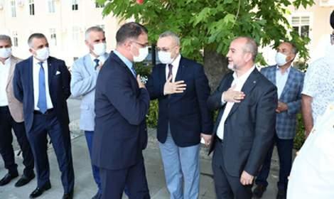Vali Ozan Balcı'dan Kurban Bayramı ziyaretleri