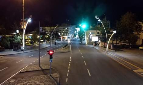 Tokat'ta yasağın başlamasıyla cadde ve sokaklar boş kaldı
