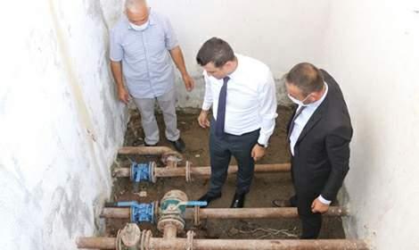 Yeşilyurt'ta içme suyu ve altyapı çalışmaları