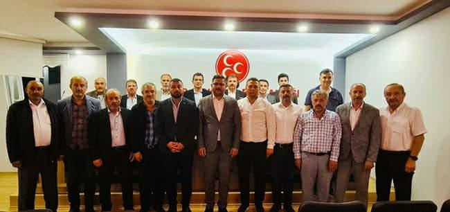 MHP'li İl Başkanı İpek: 'Yılmadan çalışmaya devam edeceğiz'