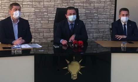 AK Parti'li Zengin'e memleketi Tokat'tan destek